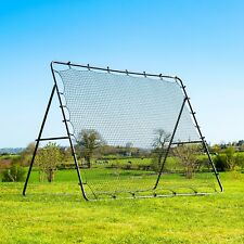 GAA Gaelic Football & Hurling 2.7m x 2.2m Rebound Net | Spring Loaded Rebounder