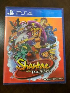 Shantae and the Pirate's Curse - Sony PS4 Limited Run Games #25 - New and Sealed