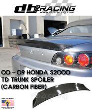 TD-Style Rear Trunk Spoiler Wing (Carbon) Fits 00-09 Honda S2000 AP1 AP2 S2K JDM