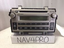 2011 2012 Toyota Matrix Mp3 Wma Radio Cd Player Oem #169