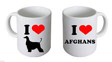 I Love Afghans China Mug Afghan Owners Mug