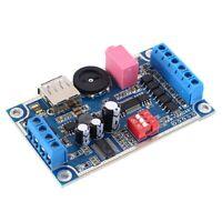 WAV MP3 Sprachmodul 10W Sound Player 4M Byte FLASH Programmierbare Steuerung