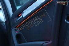 1m EL Ambiente Lichtleiste BMW-Orange Ambientebeleuchtung Innenraumbeleuchtung