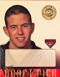 2004 SELECT CONQUEST CARD - DRAFT ESSENDON KEPLER BRADLEY DS6