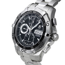 TAG Heuer Stainless Steel Band Men's Luxury Wristwatches