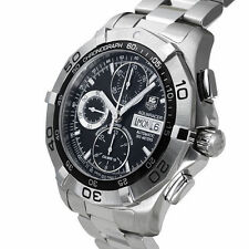 TAG Heuer Stainless Steel Band Luxury Adult Wristwatches