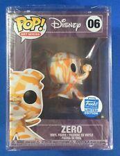 Funko Pop Art Series Disney Funkoween Zero Shop Exclusive
