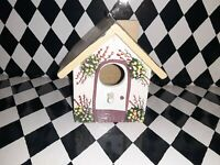 Handmade Miniature Birdhouse Adorable Hand Painted 🐦 Easter Spring Decorations