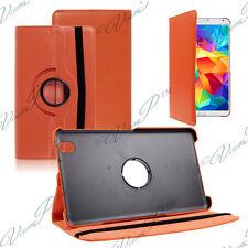 Etui Housse Rotatif Rotation 360° ORANGE Samsung Galaxy Tab 4 8.0 SM-T335 4G LTE