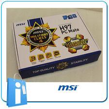 Placa base ATX MSI H97 PC MATE Socket 1150 con Accesorios