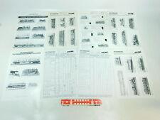 BH850-0,5 #8 Feuilles/Brochures Intermodel Kleinserienherstellung H0, N