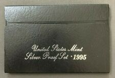 Vintage1995 S, San Francisco, United States Mint Silver Proof Set, OGP & COA