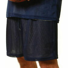 Plain Adults Mens Basketball Tricot Lining Sport Shorts   Cooldry Polyester Mesh