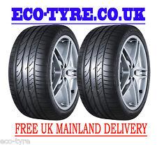2X Tyres 225 35 R19 88Y Bridgestone Potenza Re050A RFT Run Flat 225 35 19
