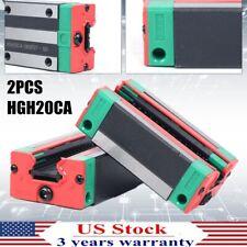 HGH20CA Rail Block Carriage Slider Linear Motion Guide Rail Steel Sliding Block