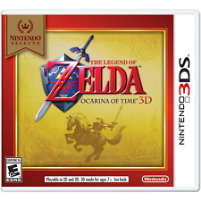The Legend of Zelda: Ocarina of Time 3D - Nintendo Selects (Nintendo 3DS, 2016)