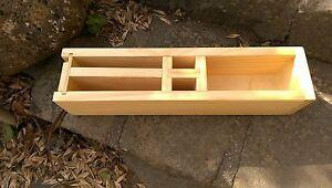 Wood Soap Mold Internal 435 x 75 x 90 Batch 2.5Kg +H~Block