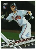 2017 TOPPS CHROME DANSBY SWANSON RC #8 ROOKIE BRAVES
