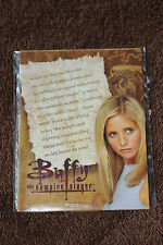 Buffy The Vampire Slayer Information Action Figure Sealed Insert