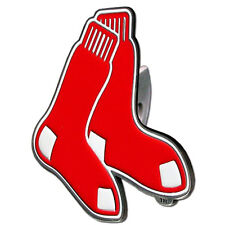 Boston Red Sox MLB TEAM LARGE DIE CUT 3D LOGO TRUCK HITCH COVER  ~ New