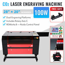 Omtech 100w 28x20in 140x90cm Co2 Laser Engraver Engraving Cutter Amp Rotary Axis C
