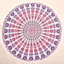Round Mandala Tapestry Hippie Wall Hanging Beach Throw Tapestries Yoga Mat