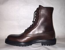 Burberry Men's Leather Military Boots (SIZE: 9.5/ 42.5)