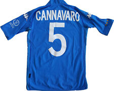 maglia italia Cannavaro WC 2002 Japan Korea mondiale home Large jersey vintage