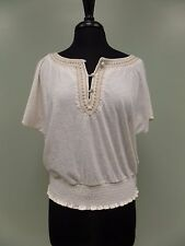 American Eagle Shirt Embroidered Women's Size L NWT $29.50 VERY NICE