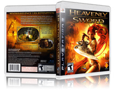 Heavenly Sword - Replacement  PS3 Cover and Case. NO GAME!!