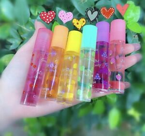 Lip Gloss 2 Pcs/ Any Random Colour  Sexy Cute Fruit Lip Balm . Liquid Lipstick