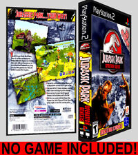 Jurassic Park Operation Genesis - PS2 Reproduction Art DVD Case No Game