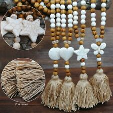 Turquoise Nepal Buddhist Mala Beads Ethnic Long Pendant Sweater Necklace Gift