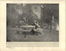 Moreau, Adrien  ~ Old Artwork ~ In the Park