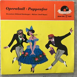 HERMANN HAGESTEDT: Der Opernball - Die Puppenfee (EP Polydor 20 049 EPH / NM)