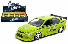 Jada 1:24 Fast & Furious Brian's Mitsubishi Lancer Evolution VII Display Car