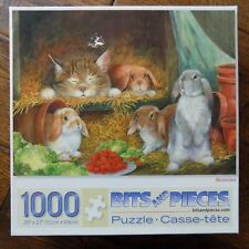 Bits and Pieces 1000 Piece Puzzle Bunnies by Lynne Jones