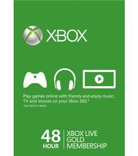 Microsoft Xbox Live Gold Membershp Trial Card (2 Days)