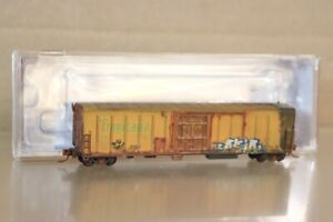 RED CABOOSE RM-21009-06 WEATHERED TROPICANA R-70-15 MECHANICAL REFER CAR 2031 nv