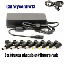 96W CHARGEUR UNIVERSEL ALIMENTATION PC PORTABLE EU pour Acer Dell HP Toshiba YF