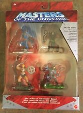 Masters Of The Universe 2002 Heroes Vs Villains Set W/ Excl. Beast Man (2.75 in)