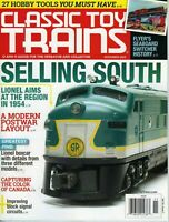 Classic Toy Trains Magazine November 2020 Selling South, Modern Post War Layout