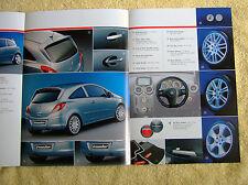 Vauxhall Corsa D Irmscher Brochure 2006 Models 3 & 5 door models