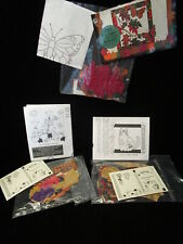 New listing Lot 4 Fall Applique Falling Leaves, Calico Cat, Pumpkin Patch Iron On