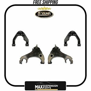 Upper & Lower Control Arm w/ Ball Joint Set of 4 for Nissan Frontier Xterra New