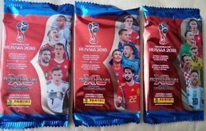 Brazil Version 2018 Panini Adrenalyn World Cup Russia 2018 Trading Card Pack 3x
