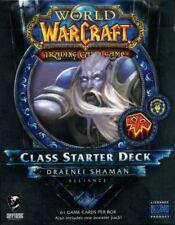 New Sealed Class Starter Deck Draenei Shaman Alliance World of Warcraft WoW TCG