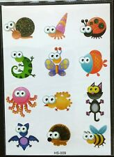 Cartoon Animals Child Temporary Tattoo Body Art  Kids Fake Tattoo Stickers