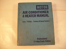 Motor Air Conditioner Heater Manual Cars Trucks Trailers Cargo Carrier 1976 134A