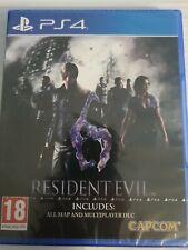 Resident Evil 6 _ PS4 _ VERS MULTILINGUE Dont Le FRANCAIS _ NEUF CELLO OFFICIEL